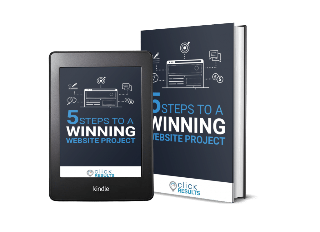 Click Results - 5 Steps to a Winning Website Project