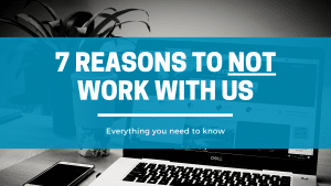 Don't hire us - Click Results - Blog - Featured Image