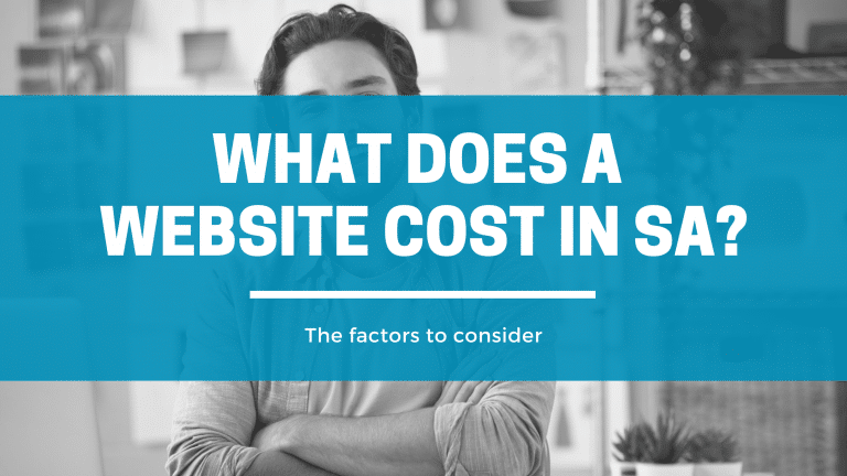 what does a website cost in south africa